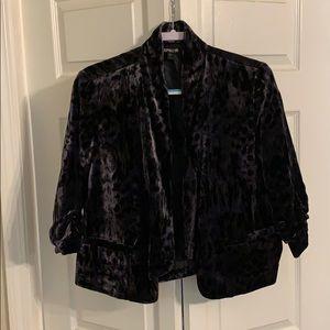 Express Jackets & Coats - Velvet jacket